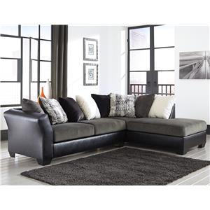 Signature Design by Ashley Armant 2-Piece Sectional with Right Chaise