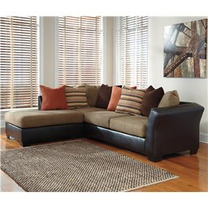 Signature Design by Ashley Armant 2-Piece Sectional with Left Chaise