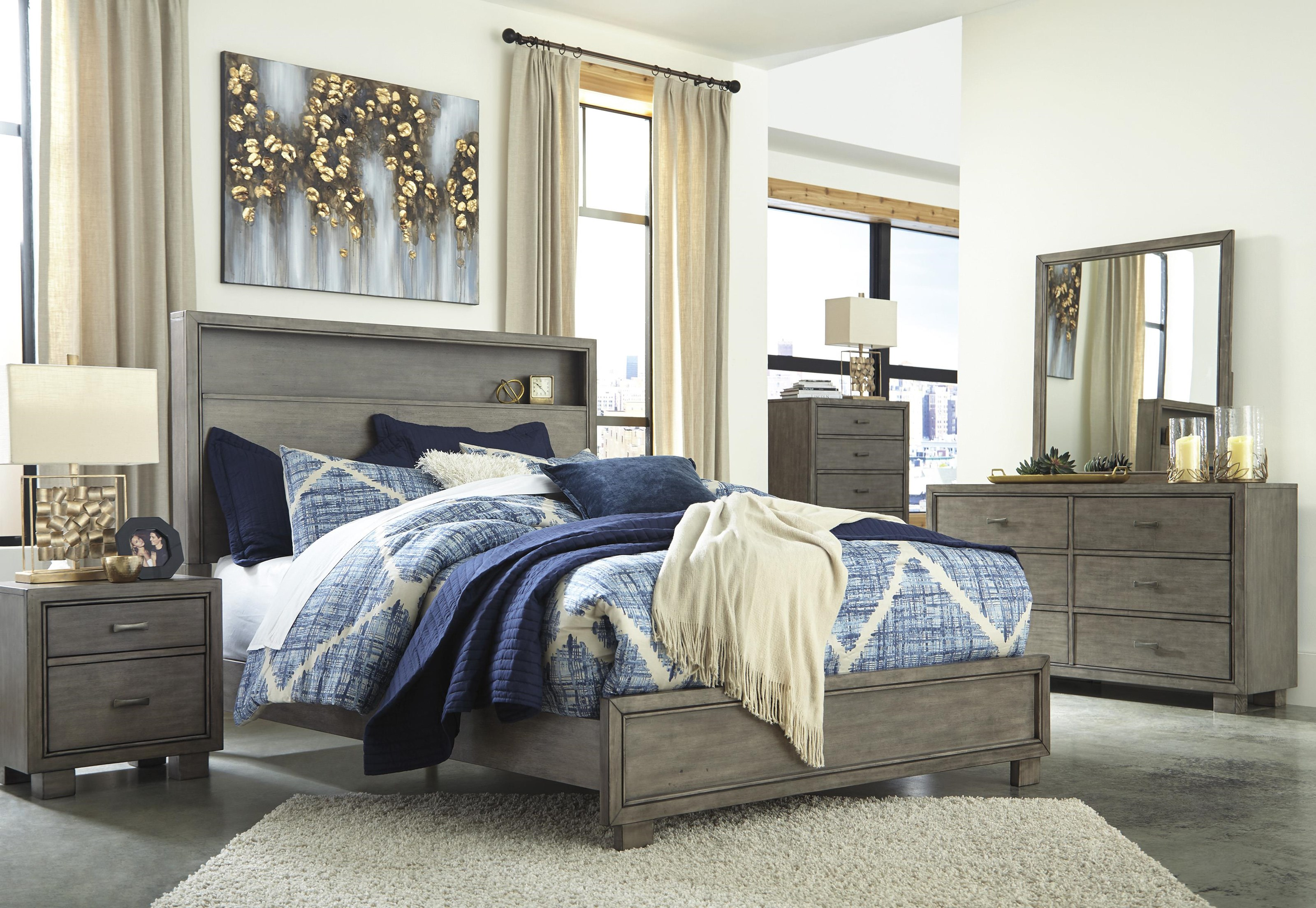 Queen Bookcase Bed Package
