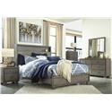 Signature Design by Ashley Arnett Queen Bookcase Bed Package - Item Number: 575355207