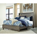 Signature Design by Ashley Arnett Contemporary Full Bed with Headboard Shelf
