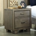 Signature Design by Ashley Arnett Contemporary 2-Drawer Nightstand