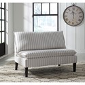 Signature Design by Ashley Arrowrock Pinstripe Accent Bench/Settee