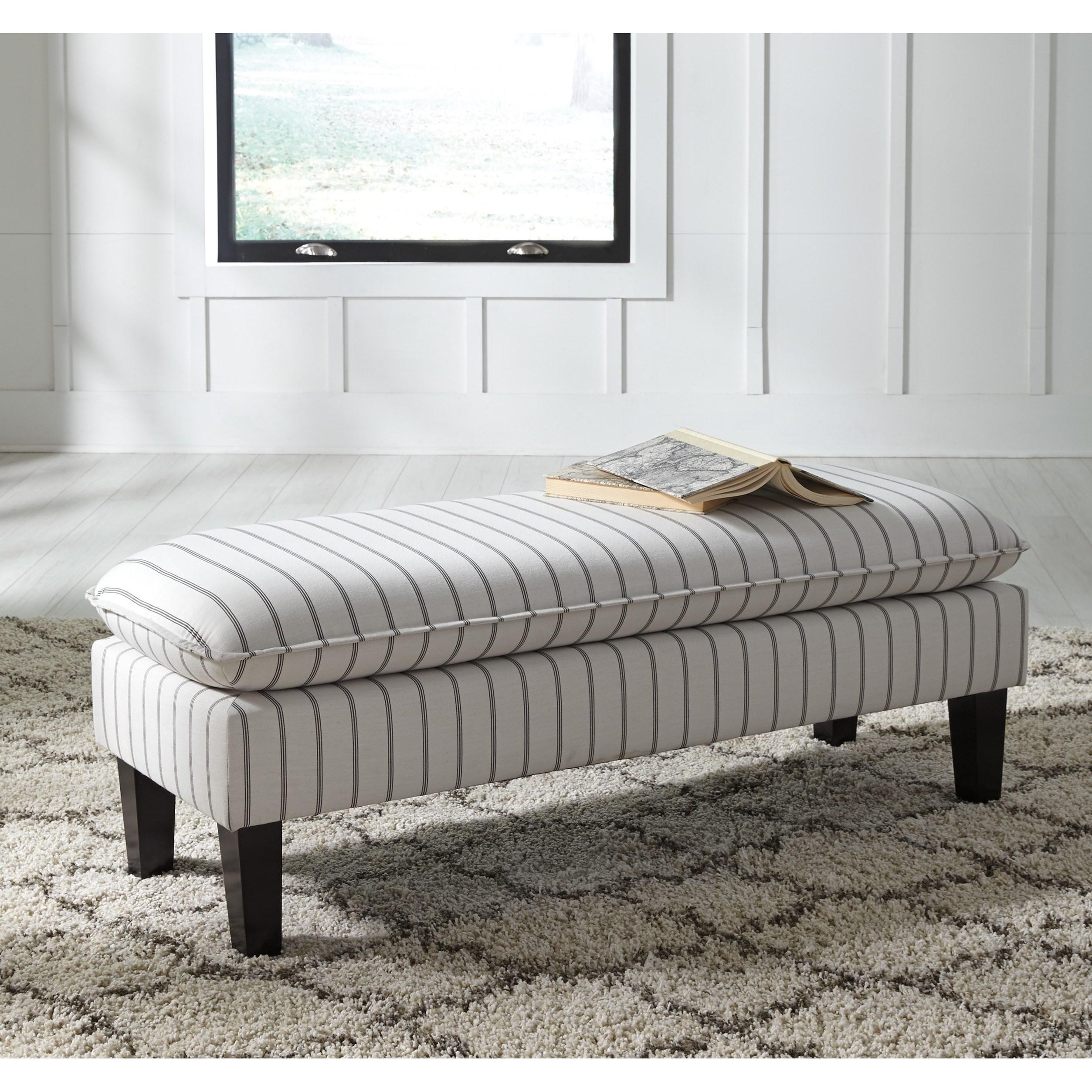 Levits Furniture: Signature Design By Ashley Arrowrock A3000113 Pinstripe