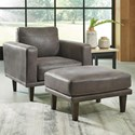 Signature Design by Ashley Arroyo RTA Chair & Ottoman - Item Number: 8940220+14