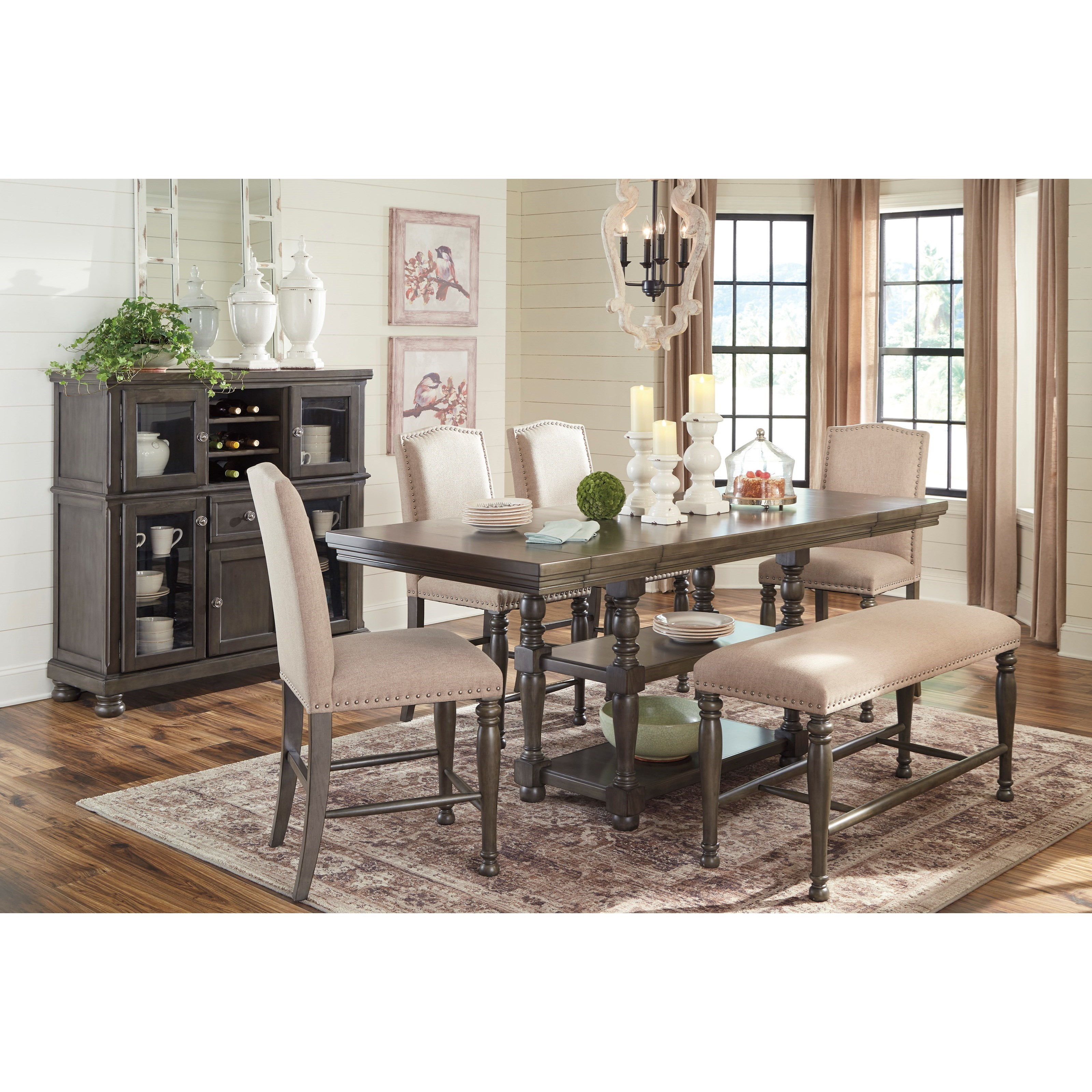 Signature Design By Ashley Besteneer Formal Dining Room: Signature Design By Ashley Audberry Formal Dining Room
