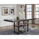 Signature Design by Ashley Audberry Transitional Counter Height Dining Table with Extension Leaf