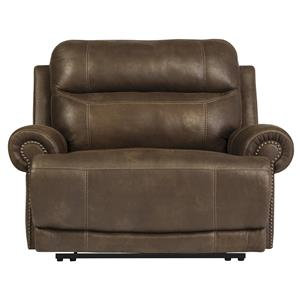 Signature Design by Ashley Furniture Austere - Brown Zero Wall Recliner