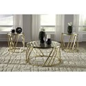 Signature Design by Ashley Austiny Contemporary Three Piece Occasional Table Set
