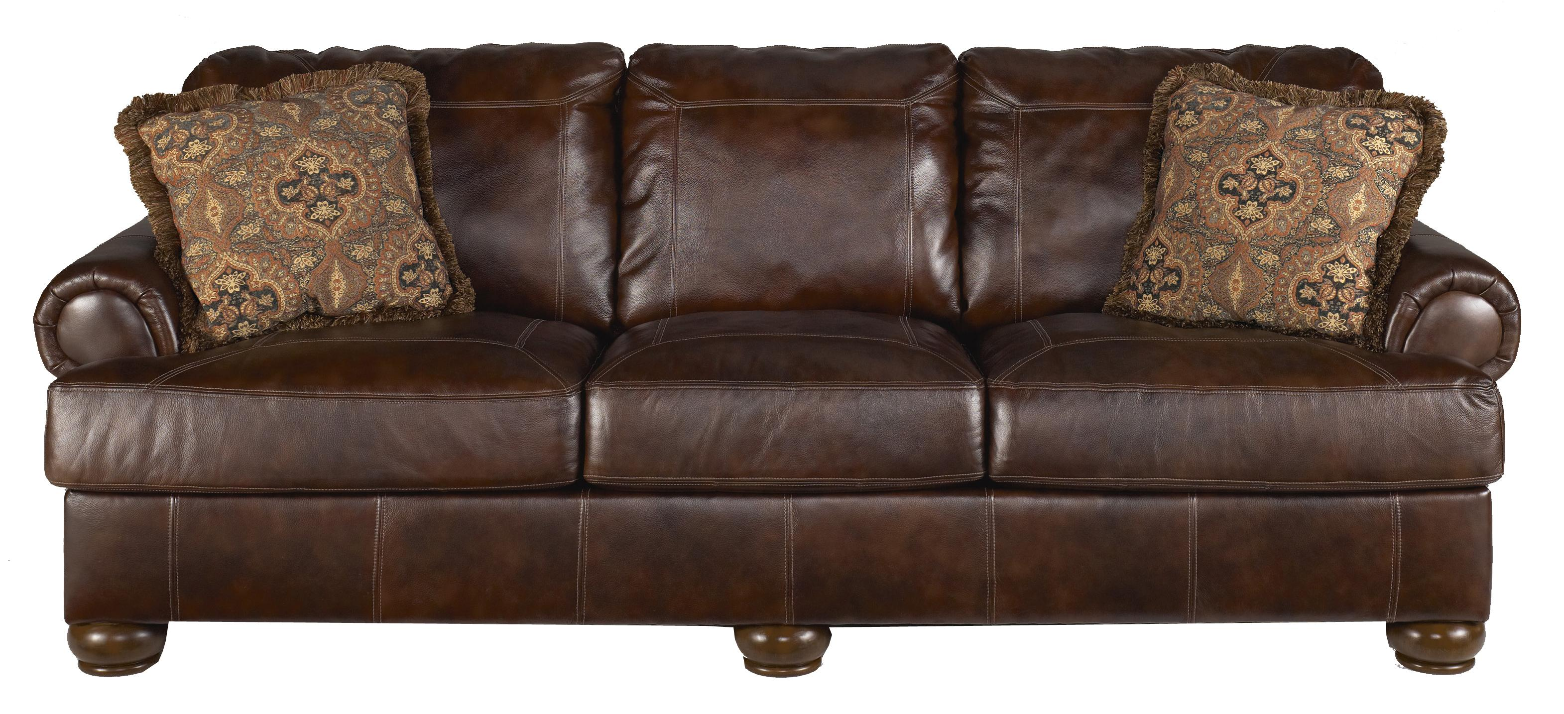 Ashley signature design axiom walnut traditional for Furniture xchange new jersey