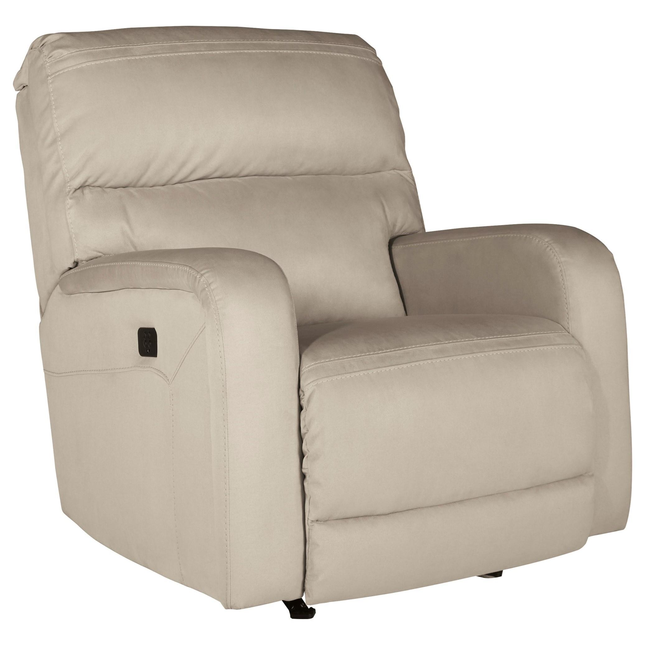 Trendz Alani Power Rocker Recliner w/ Adjustable Headrest - Item Number: 7530413