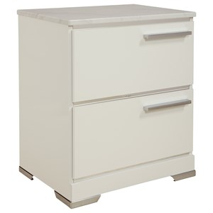 Signature Design by Ashley Brillaney Two Drawer Night Stand