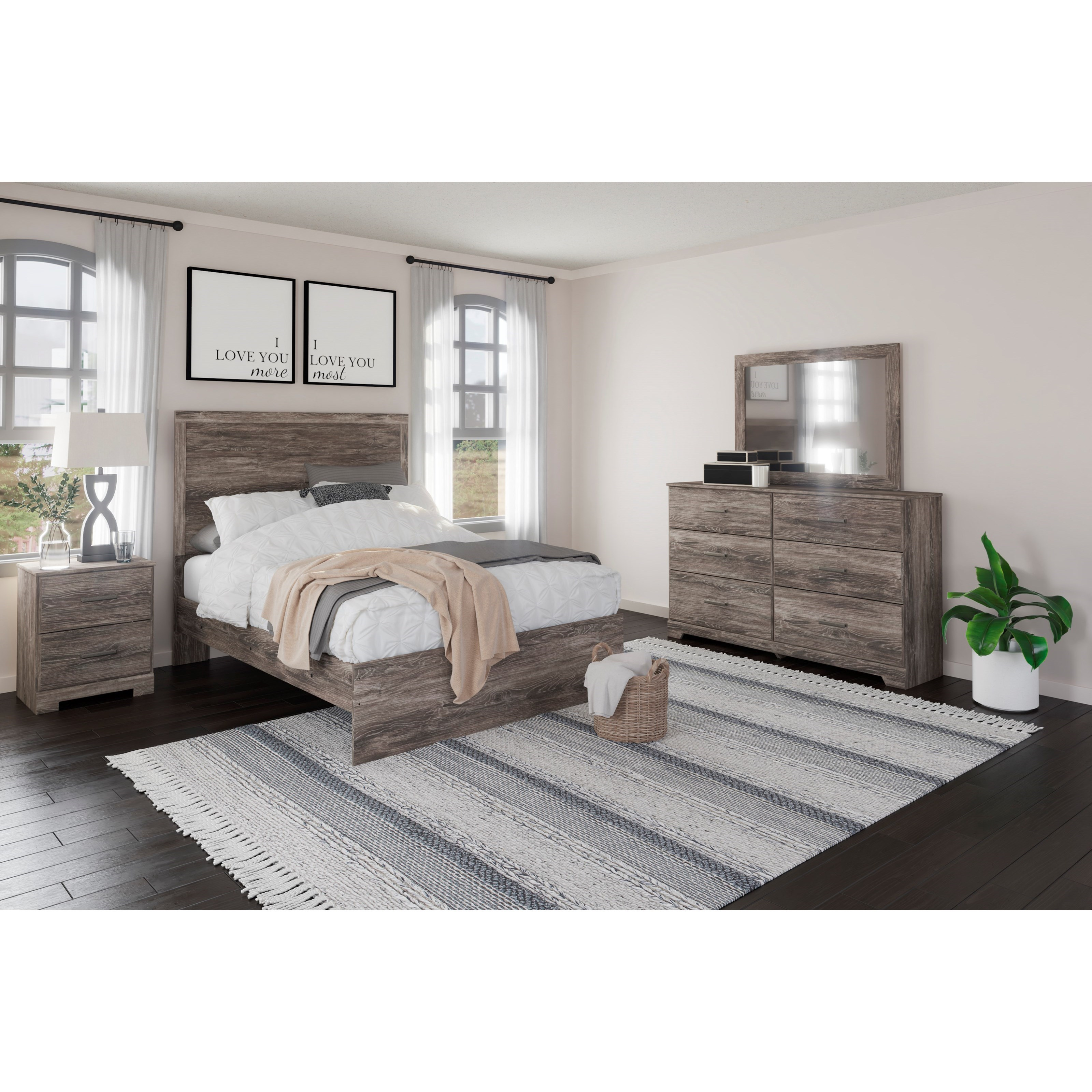 Ralinski Full Bedroom Group by StyleLine at EFO Furniture Outlet