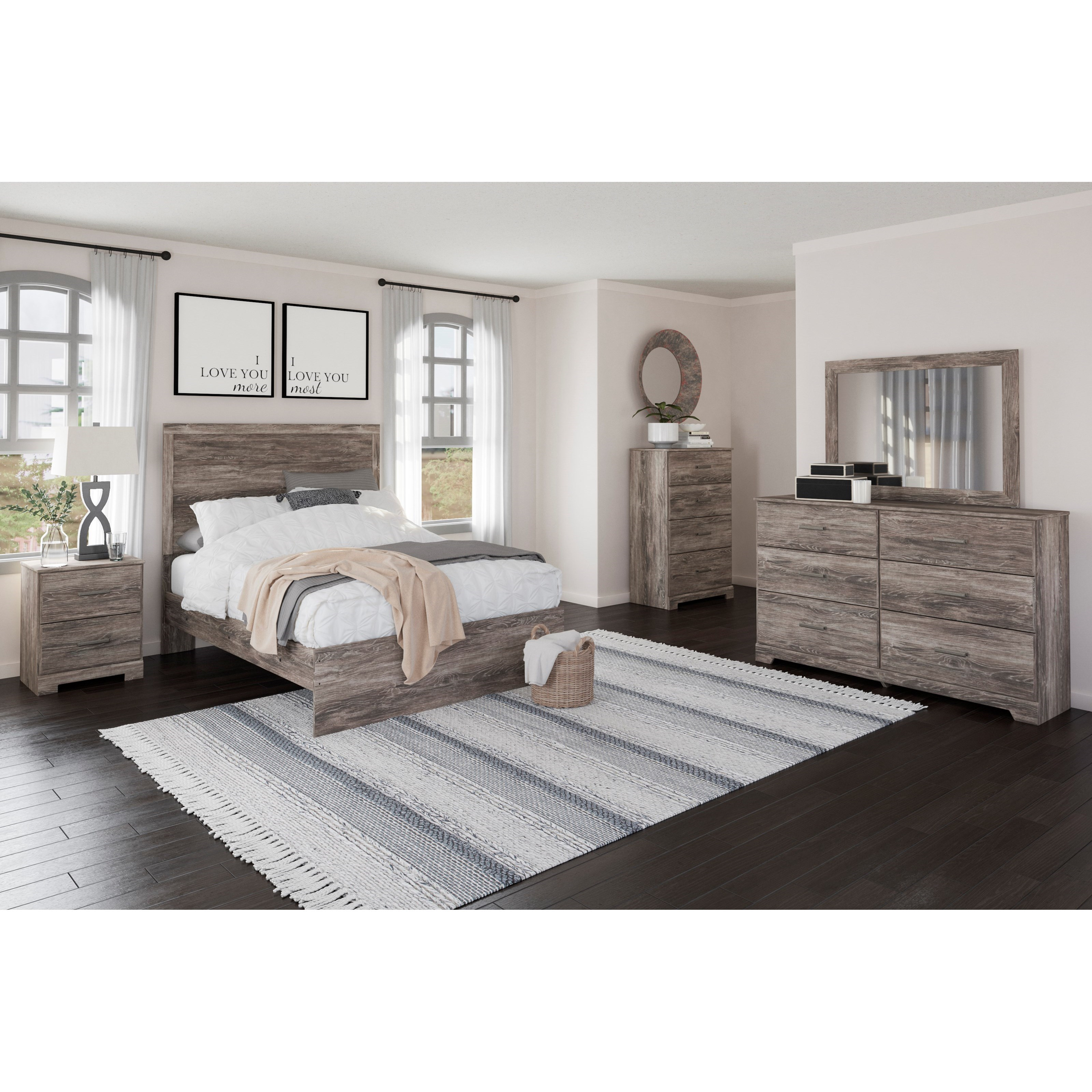 Ralinski Full Bedroom Group by Benchcraft at Virginia Furniture Market