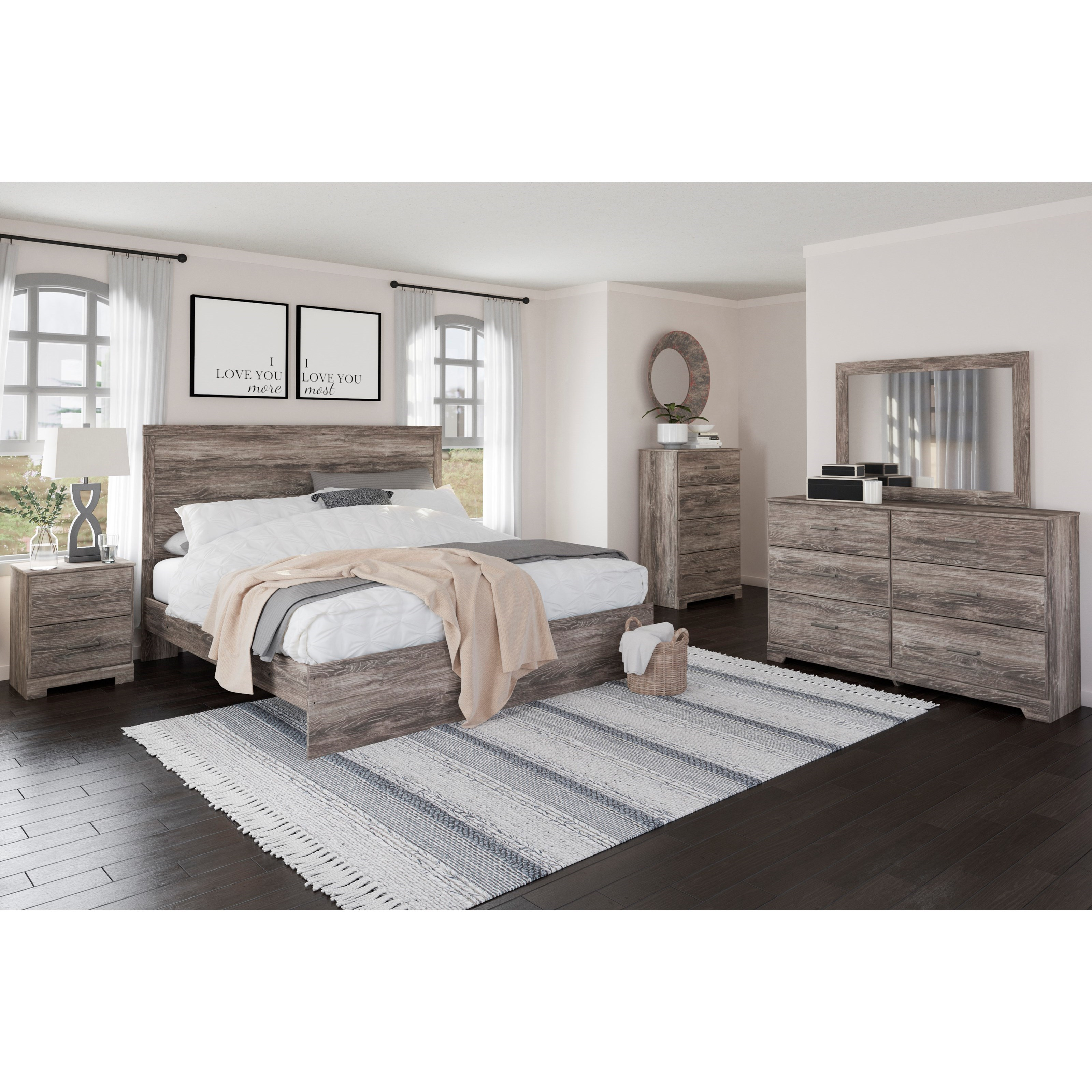 Ralinski King Bedroom Group by Signature Design by Ashley at Houston's Yuma Furniture