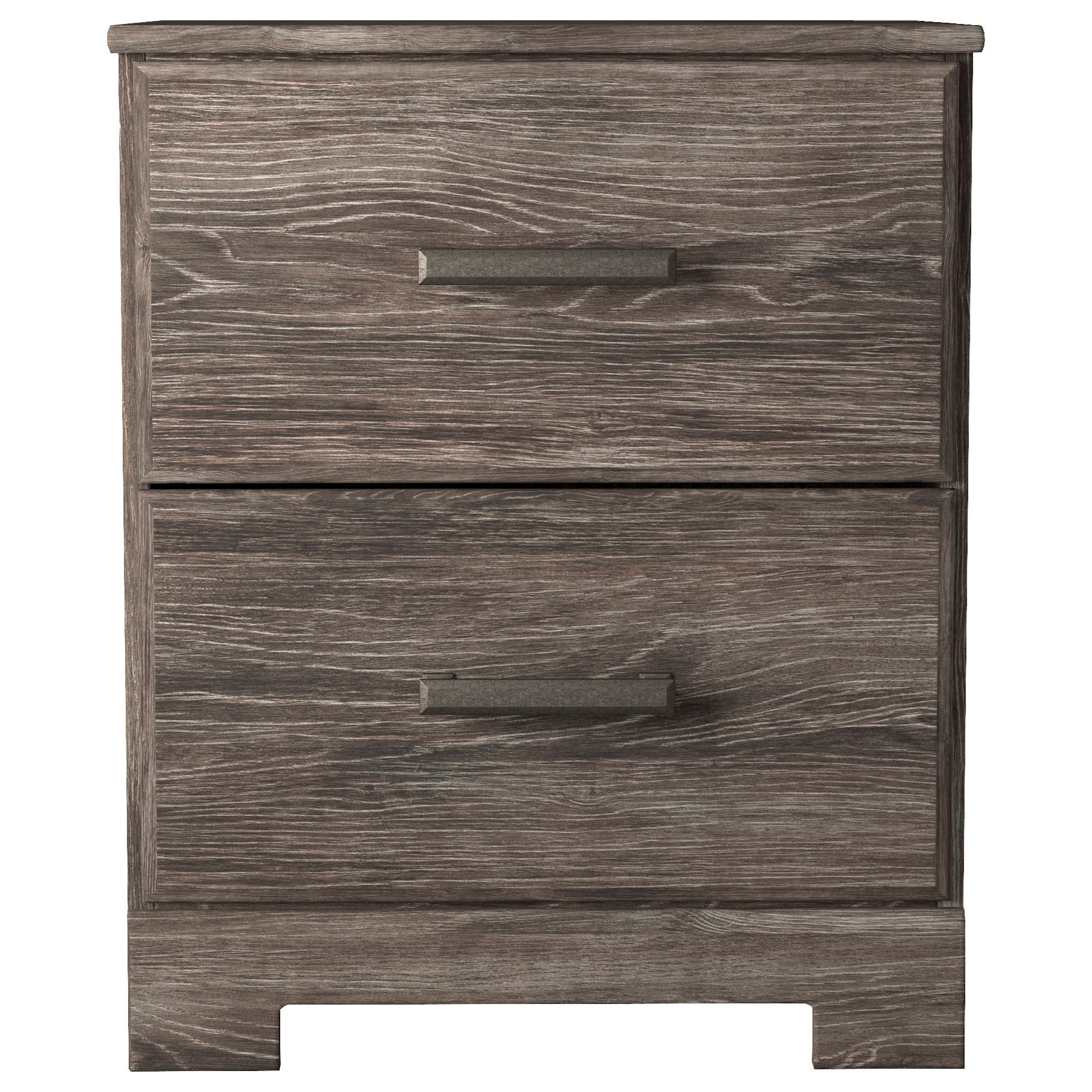 Ralinski 2-Drawer Nightstand by Benchcraft at Virginia Furniture Market