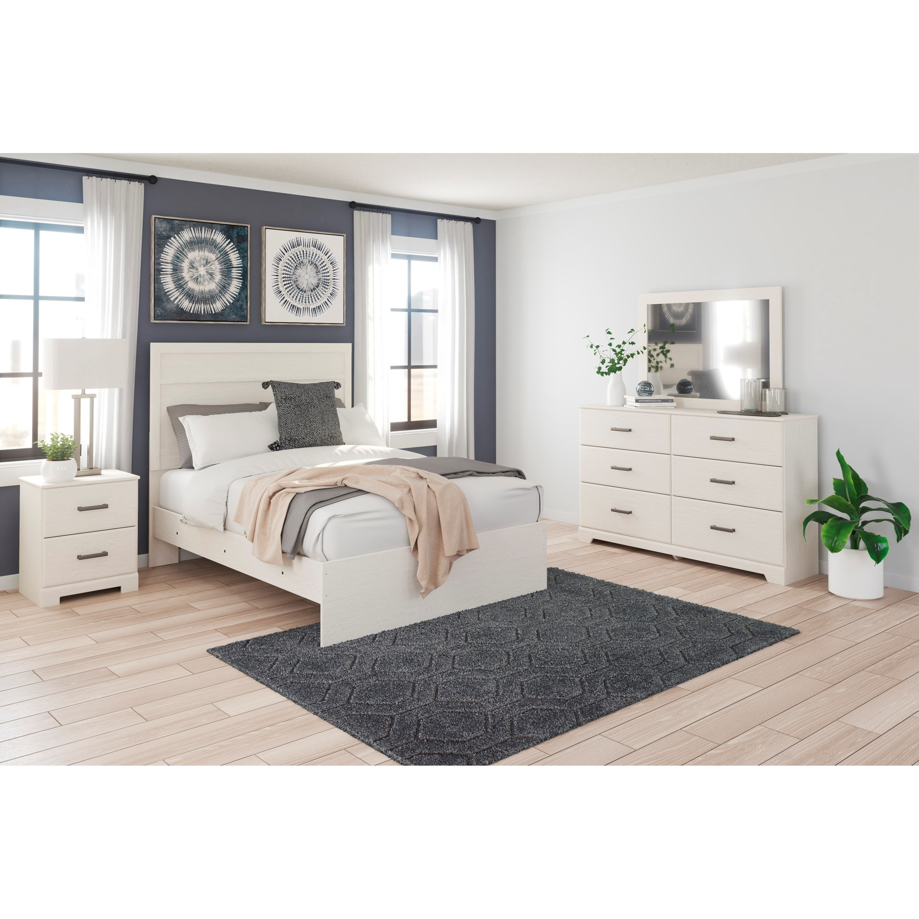 Stelsie Full Bedroom Group by Signature Design by Ashley at Household Furniture