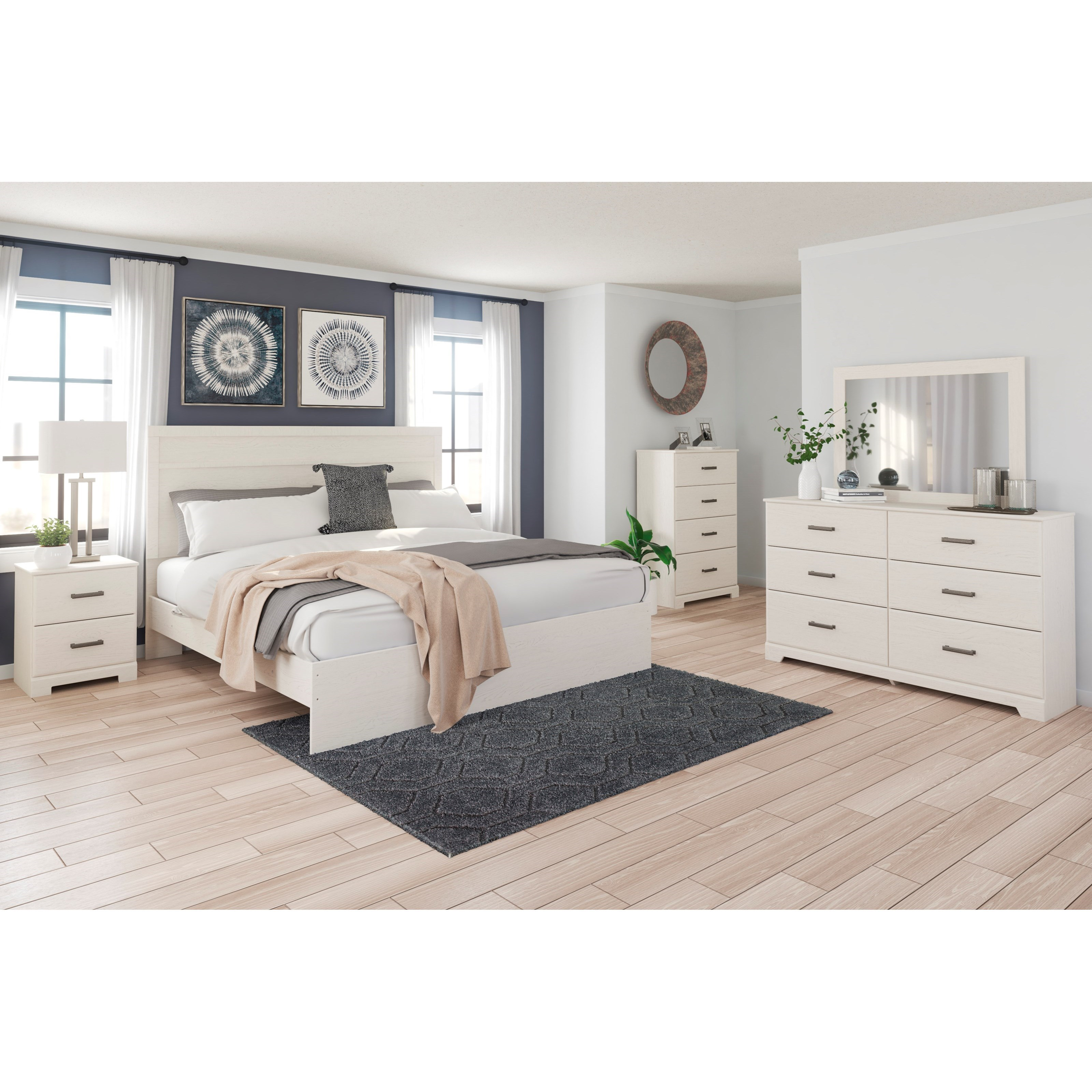 Stelsie King Bedroom Group by Signature Design by Ashley at Household Furniture