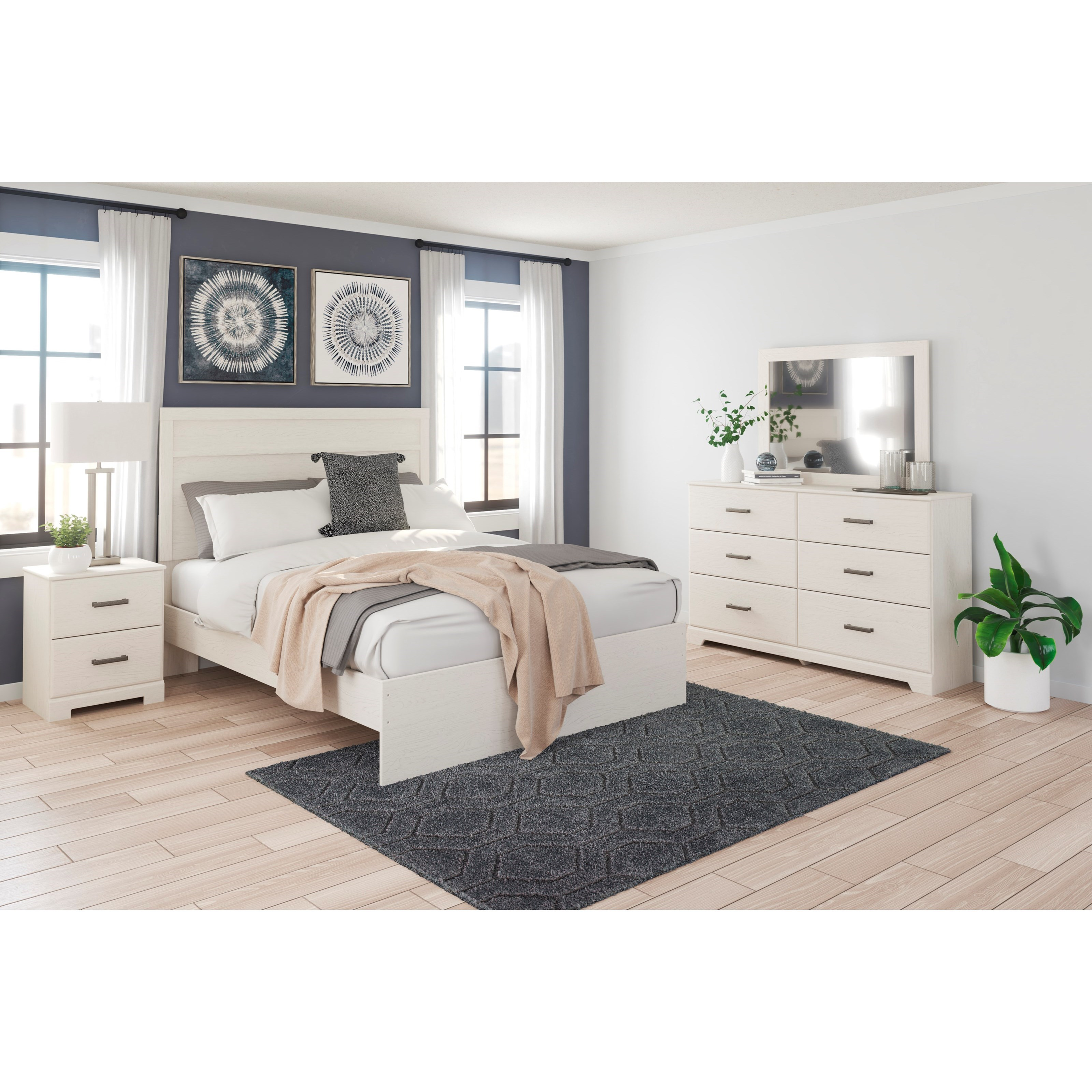 Stelsie Queen Bedroom Group by Signature Design by Ashley at Northeast Factory Direct