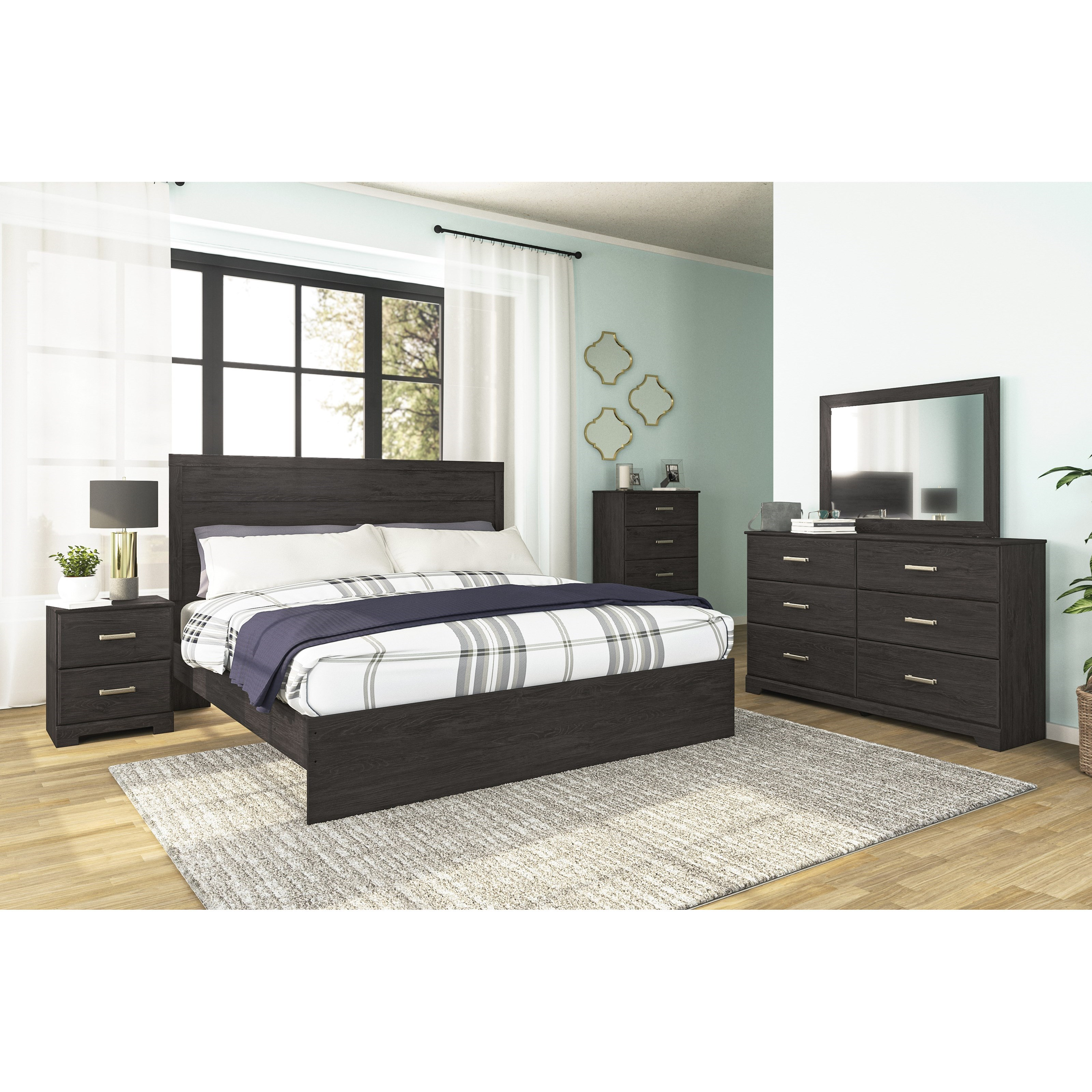 Belachime King Bedroom Group by Signature Design by Ashley at Rife's Home Furniture
