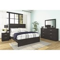 Signature Design by Ashley Belachime Queen Bedroom Group - Item Number: B2589 Q Bedroom Group 1