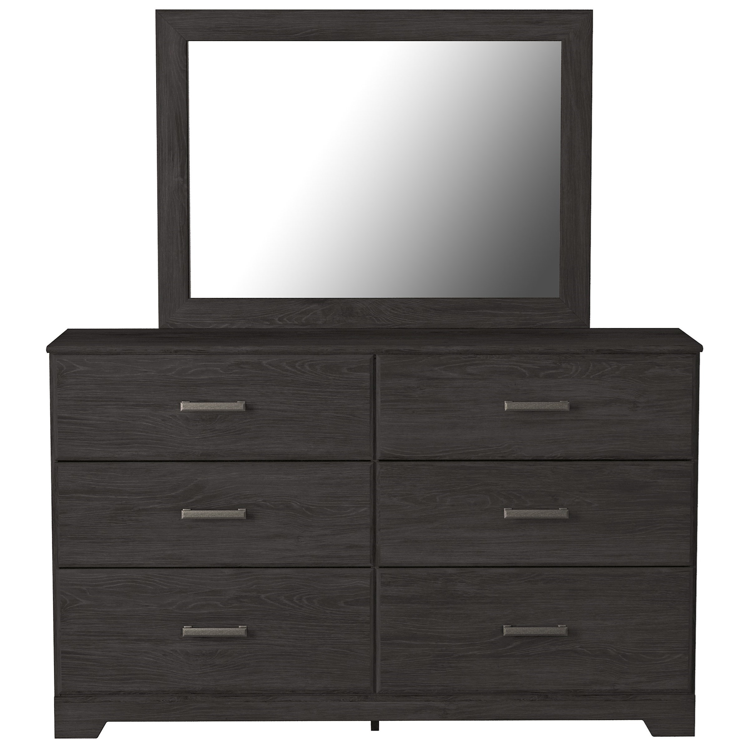 Belachime Dresser & Bedroom Mirror by Signature Design by Ashley at Zak's Warehouse Clearance Center
