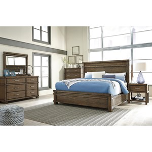 Signature Design by Ashley Leystone California King Bedroom Group