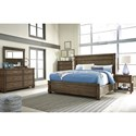 Signature Design by Ashley Leystone Queen Bedroom Group - Item Number: B614 Q Bedroom Group 1