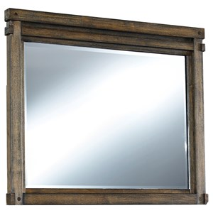 Signature Design by Ashley Leystone Landscape Mirror
