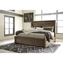 Signature Design by Ashley Leystone Queen Bed - Item Number: B614-81+50+94