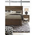 Signature Design by Ashley Leystone Contemporary King Bed with Low-Profile Footboard - Bed Shown May Not Represent Size Indicated