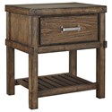 Signature Design by Ashley Leystone Night Stand - Item Number: B614-91