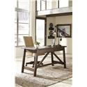 Signature Design by Ashley Baldridge Home Office Desk and Office UPH Swivel Chair - Item Number: 890467547