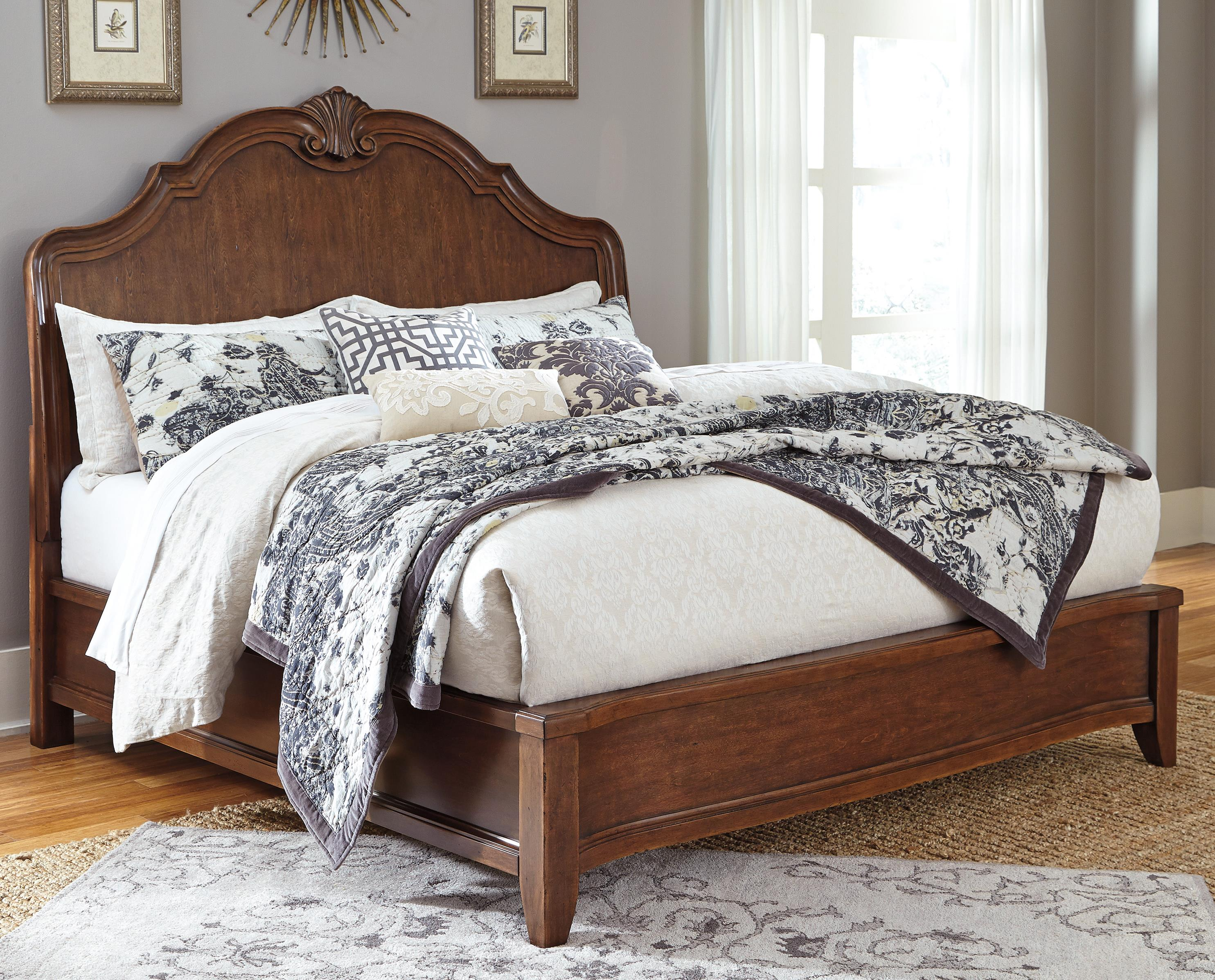Signature Design by Ashley Balinder California King Sleigh Bed - Item Number: B708-58+56+94