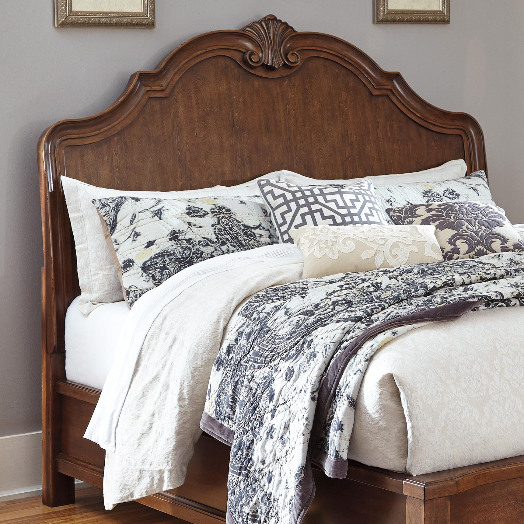 Signature Design by Ashley Balinder Queen Sleigh Headboard - Item Number: B708-57