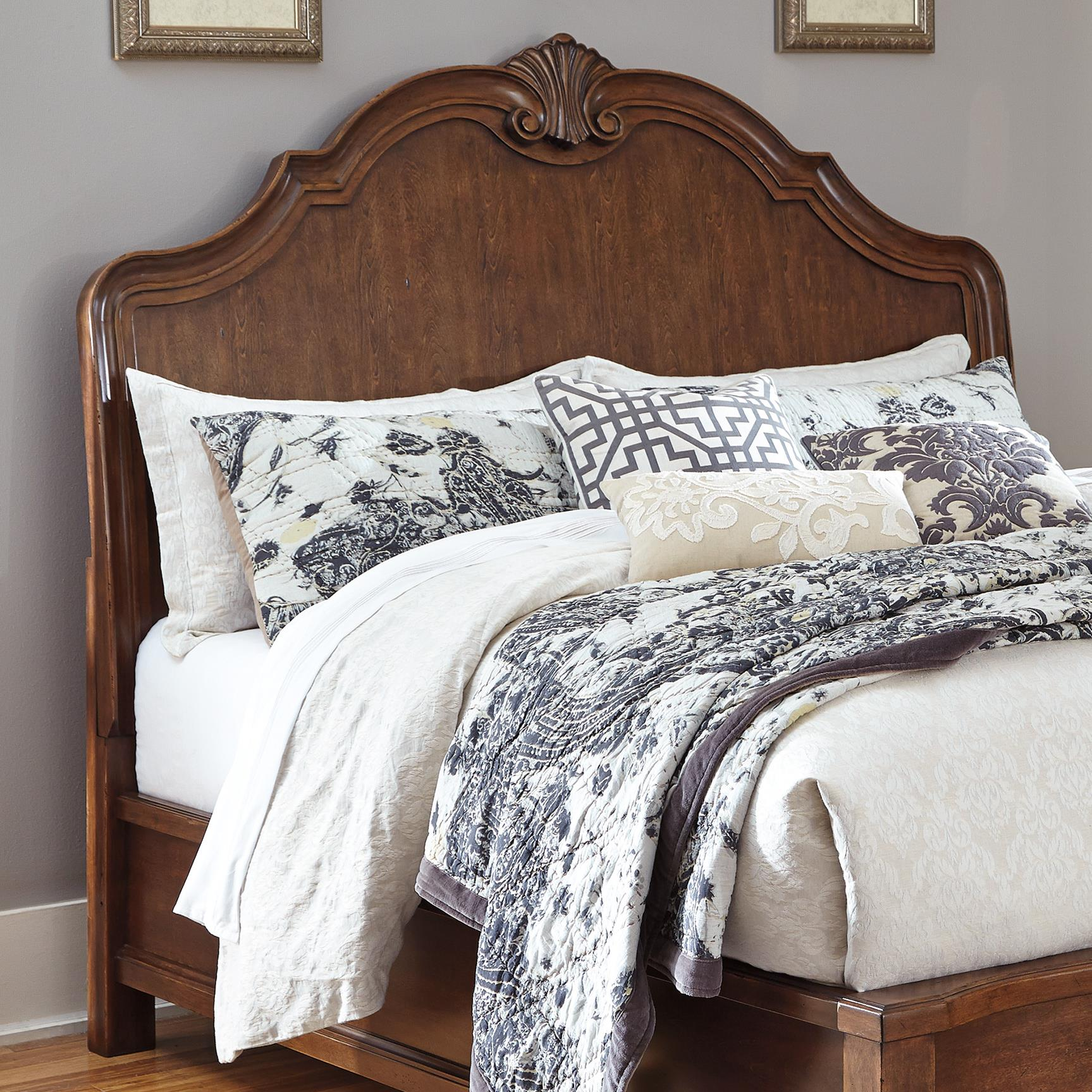 Signature Design by Ashley Balinder King/Cal King Sleigh Headboard - Item Number: B708-58