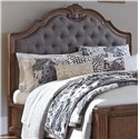 Signature Design by Ashley Balinder King/Cal King Upholstered Panel Headboard - Item Number: B708-78