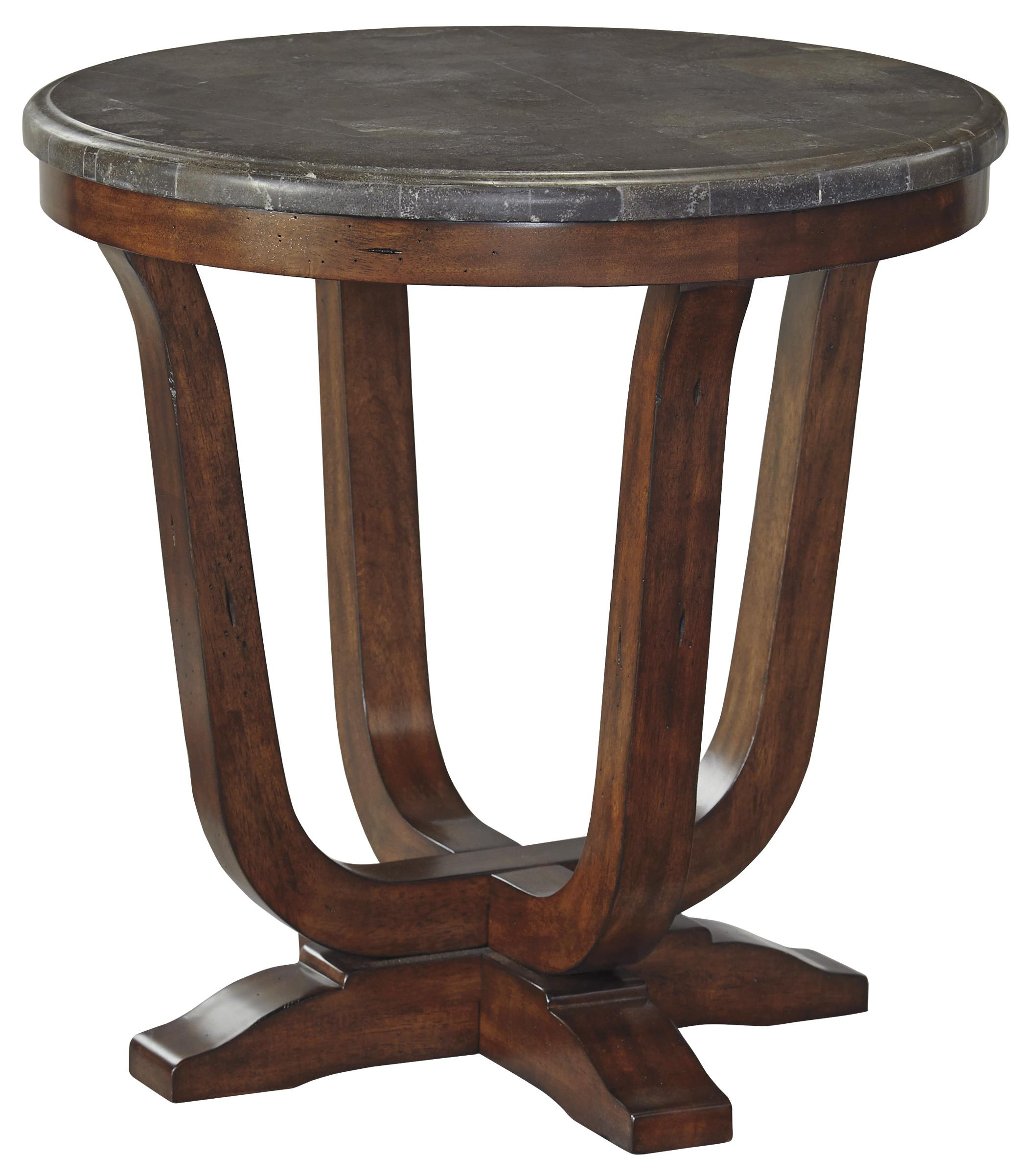 Signature Design by Ashley Balinder Round End Table - Item Number: T908-6