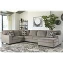 Signature Design by Ashley Ballinasloe 3 PC Sectional and Recliner Set - Item Number: 800307022