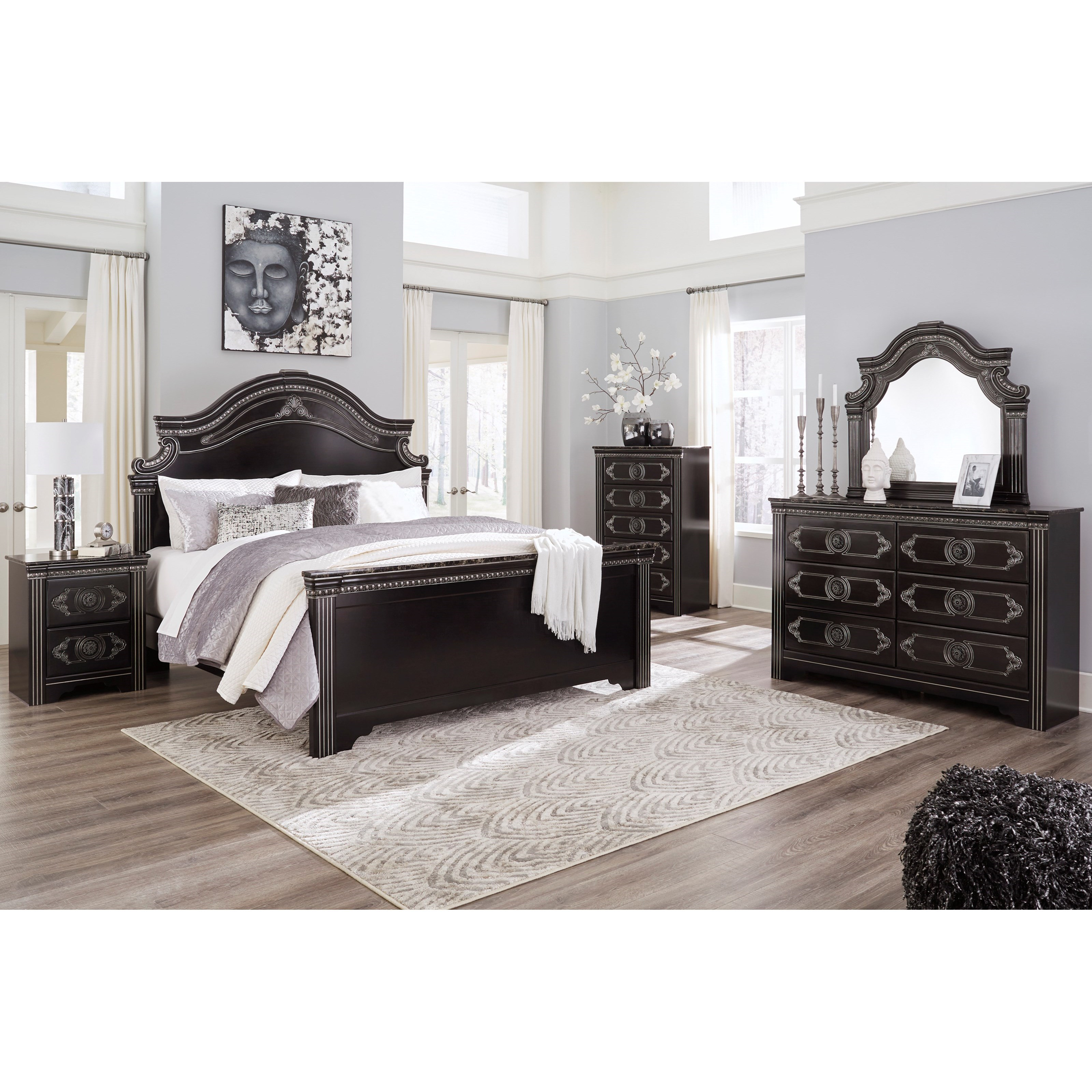 Banalski King Bedroom Group by Signature Design by Ashley at Zak's Warehouse Clearance Center