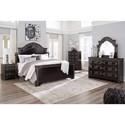 Signature Design by Ashley Banalski King Bedroom Group - Item Number: B342 K Bedroom Group 1