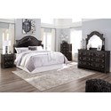 Signature Design by Ashley Banalski Queen Bedroom Group - Item Number: B342 Q Bedroom Group 2
