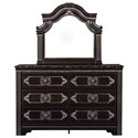 Signature Design by Ashley Banalski Dresser & Bedroom Mirror - Item Number: B342-31+36