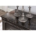 Signature Design by Ashley Banalski Traditional Dresser with Faux Marble Top & Bedroom Mirror