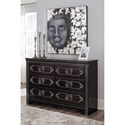 Signature Design by Ashley Banalski Traditional Dresser with Faux Marble Top
