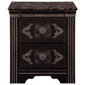 Signature Design by Ashley Banalski 2-Drawer Nightstand - Item Number: B342-92