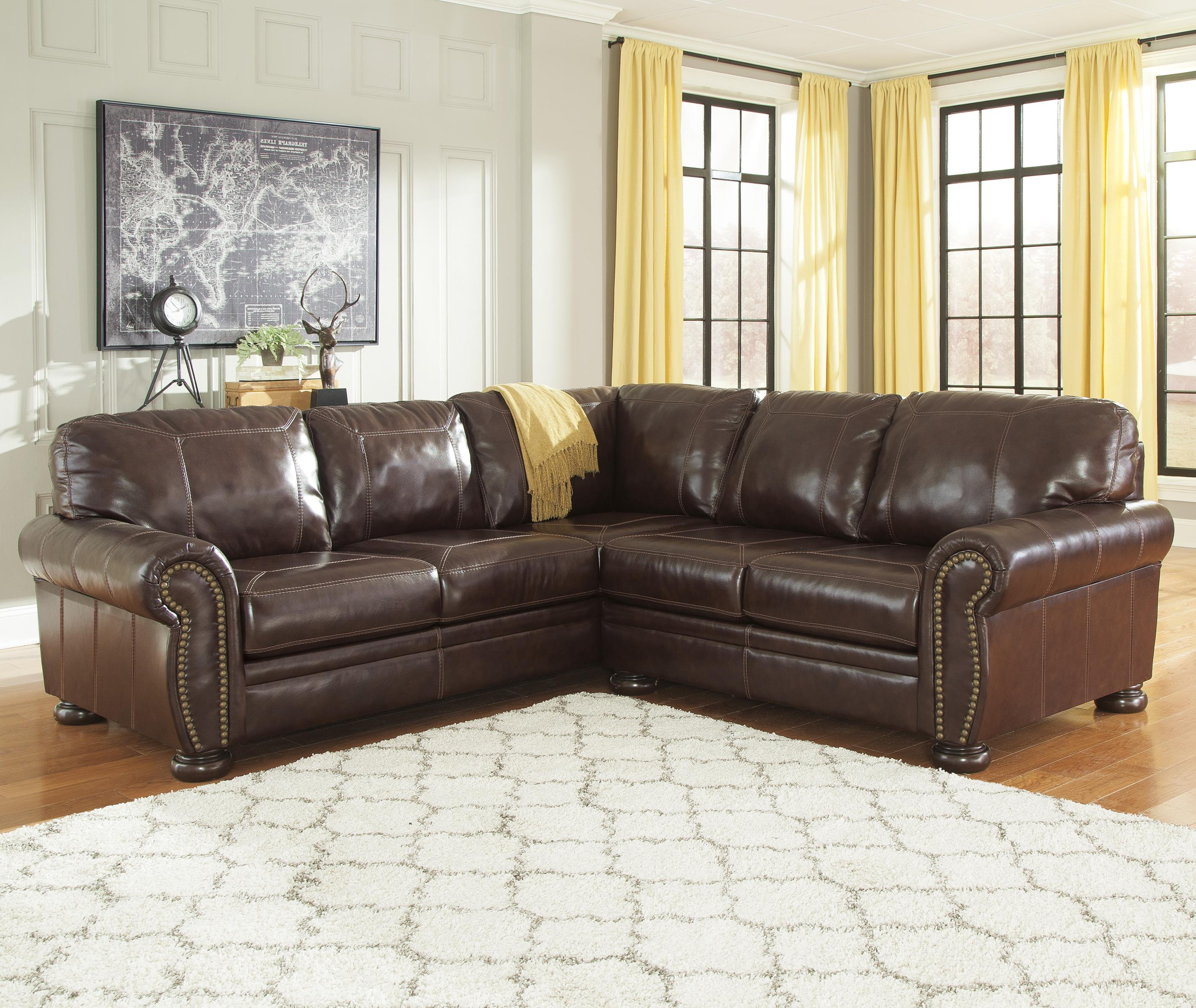 2 Piece Sectional Sofas With Recliners Baci Living Room