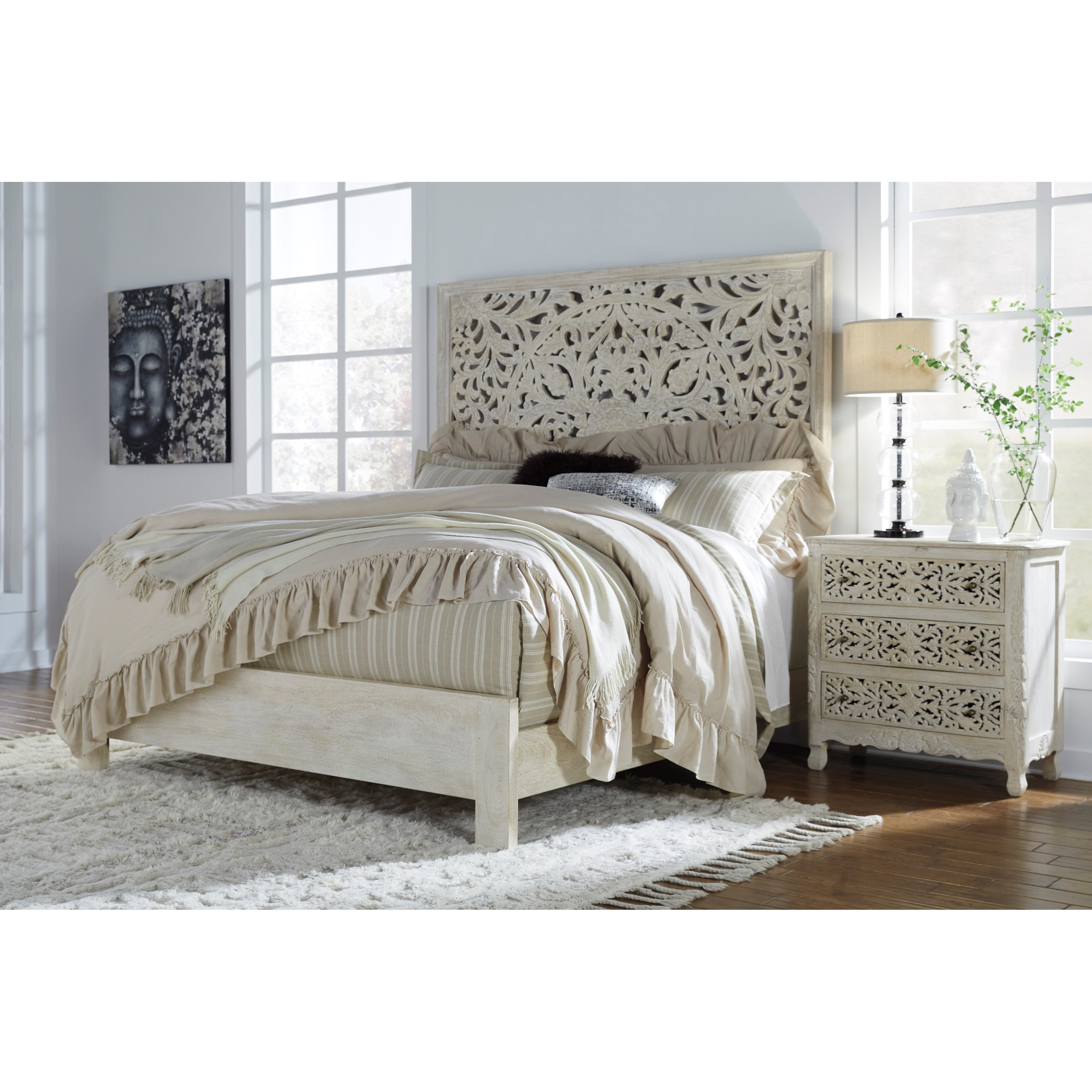 Signature Design by Ashley Bantori Queen Bedroom Group - Item Number: B805 Q Bedroom Group 1