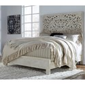 Signature Design by Ashley Bantori California King Panel Bed - Item Number: B805-258+256+294