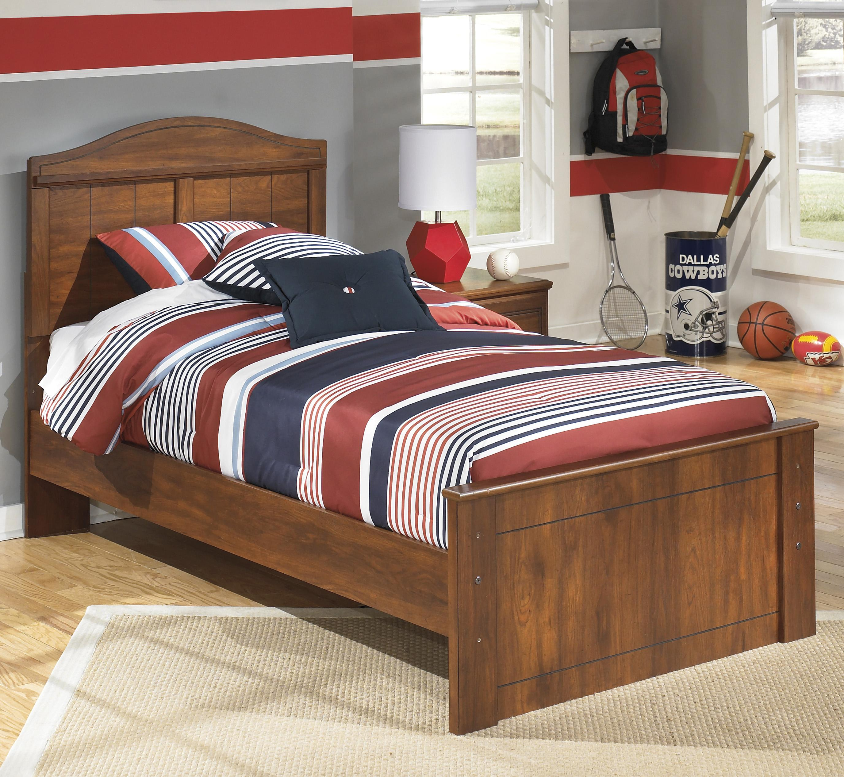 Signature Design by Ashley Barchan Twin Panel Bed - Item Number: B228-53+52+82